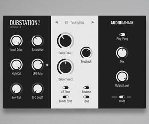 audio damage dubstation 2 delay plugin