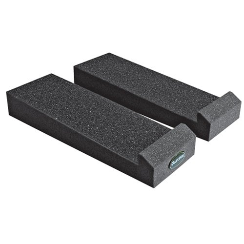 Auralex MoPAD Monitor Isolation Pads, 1 Pair for 2 Speakers, Charcoal