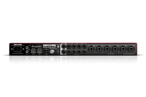Focusrite Scarlett 18i20 USB 2.0 Audio Interface With Eight Focusrite Microphone Preamplifiers