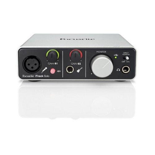 Focusrite iTrack Solo USB Audio Interface