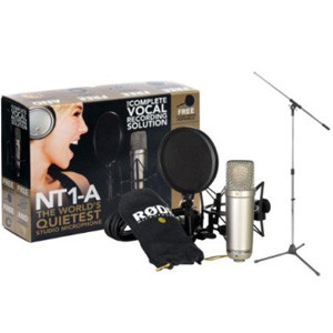 rode nt1-a microphone studio bundle