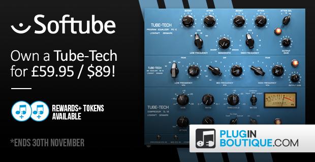 Softube Tube-Tech Black Friday Deals