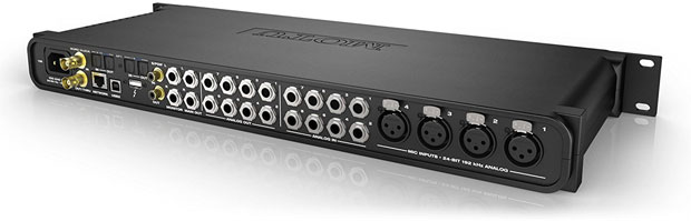 MOTU 1248 Audio Interface rear view