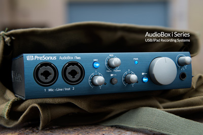 Presonus AudioBox iOne portability
