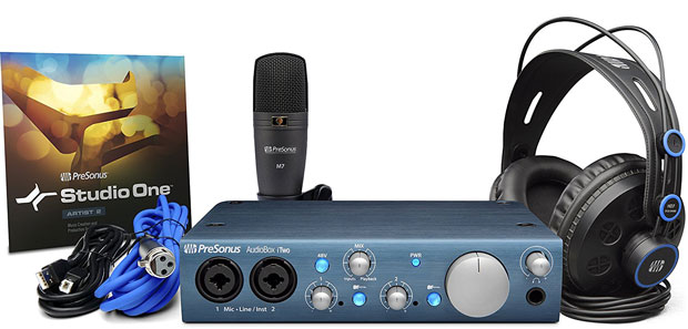Presonus iTwo Audio Interface Studio Bundle